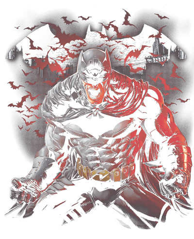Batman Raging Bat Women's T-Shirt