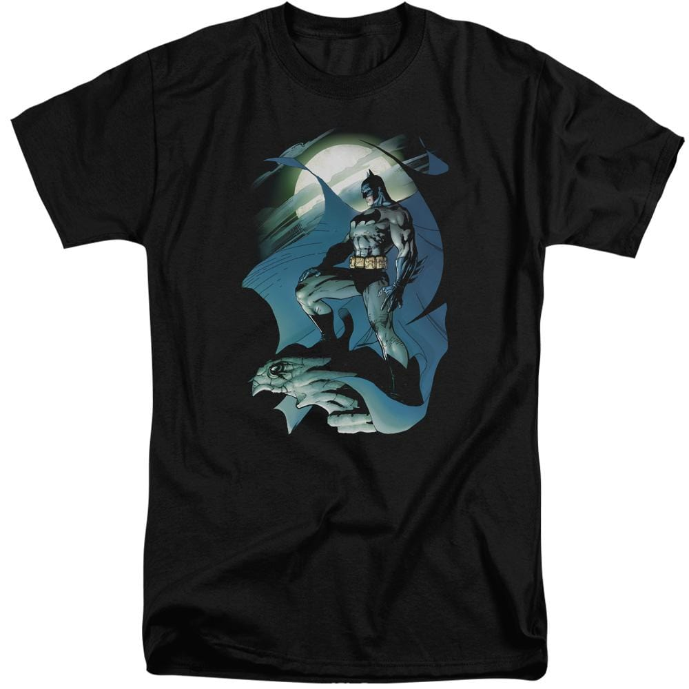 Batman - Glow Of The Moon Adult Tall Fit T-Shirt