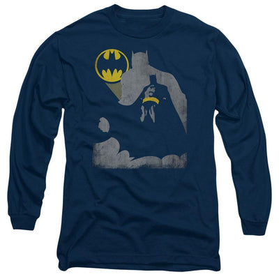 Batman Bat Knockout Men's Long Sleeve T-Shirt