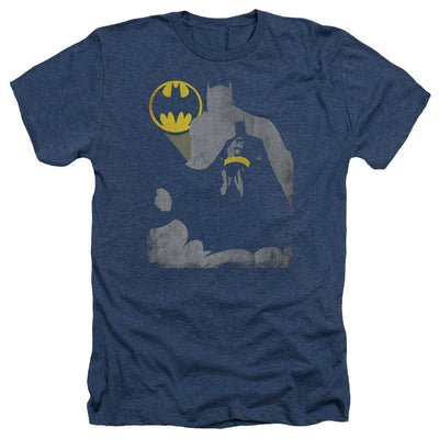 Batman Bat Knockout Men's Heather T-Shirt