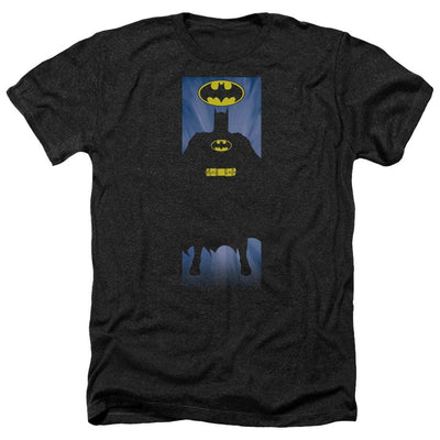 Batman Batman Block Men's Heather T-Shirt
