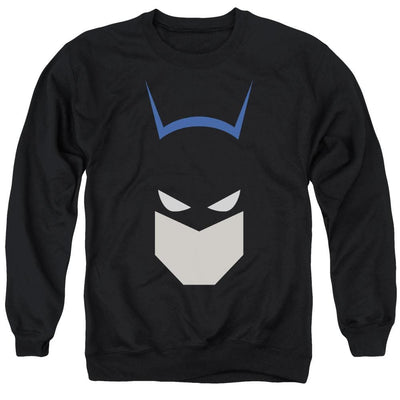 Batman  Bat Head Men's Crewneck Sweatshirt