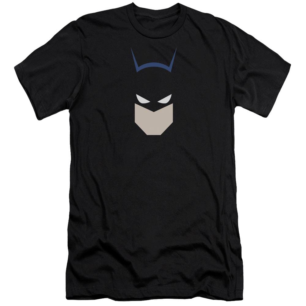Batman Bat Head Premium Adult Slim Fit T-Shirt