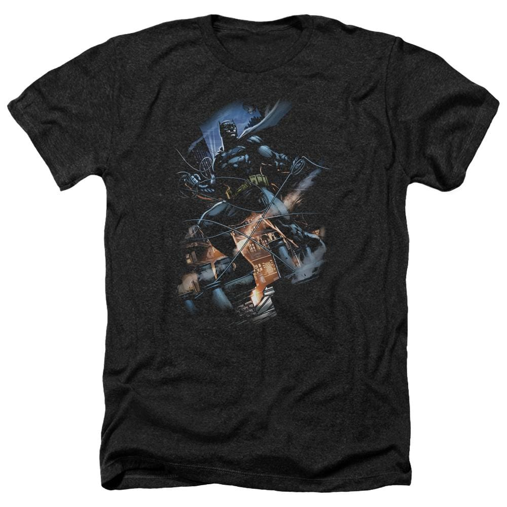 Batman - Gotham Knight Adult Regular Fit Heather T-Shirt