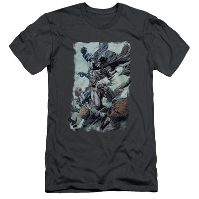 Batman Punch Men's Slim Fit T-Shirt