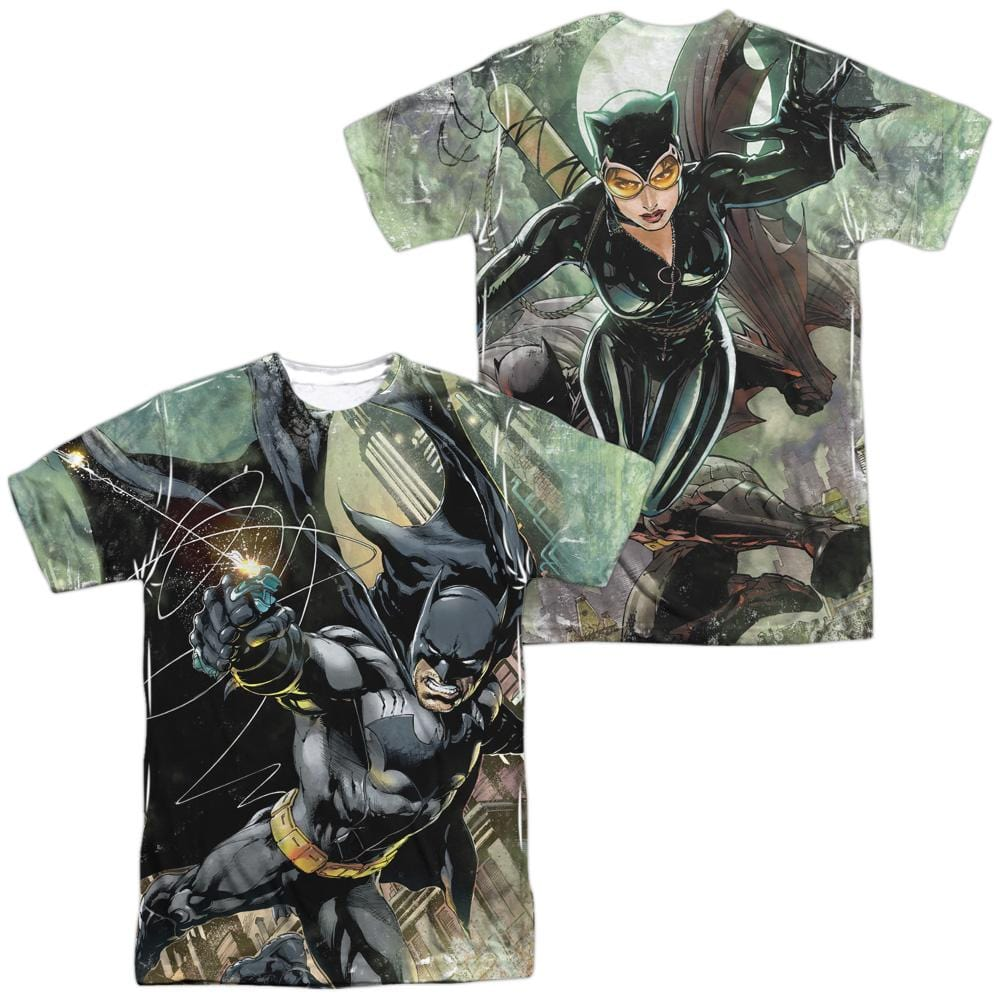 Batman Catch Adult All Over Print 100% Poly T-Shirt