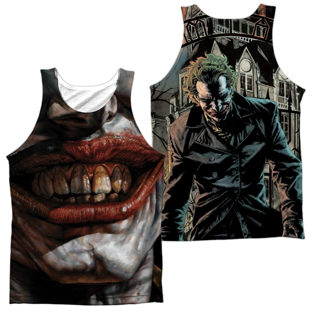 Batman Asylum Adult Tank Top