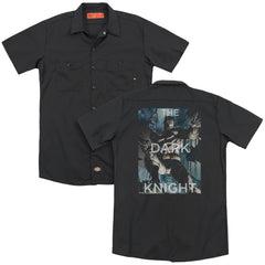 Batman - Fighting The Storm Adult Work Shirt