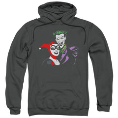Batman Joker & Harley Adult Pull-Over Hoodie