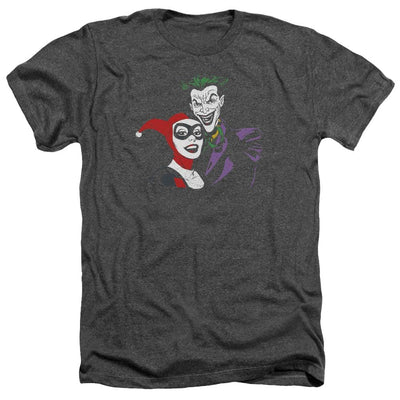 Batman Joker & Harley Men's Heather T-Shirt
