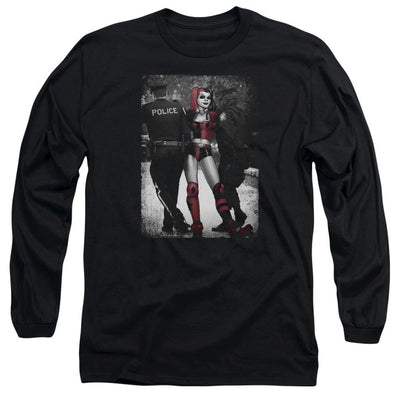 Batman Arrest Men's Long Sleeve T-Shirt