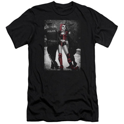 Batman Arrest Men's Premium Slim Fit T-Shirt