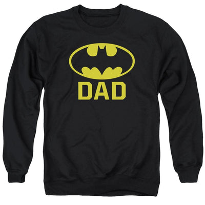 Batman Bat Dad Men's Crewneck Sweatshirt