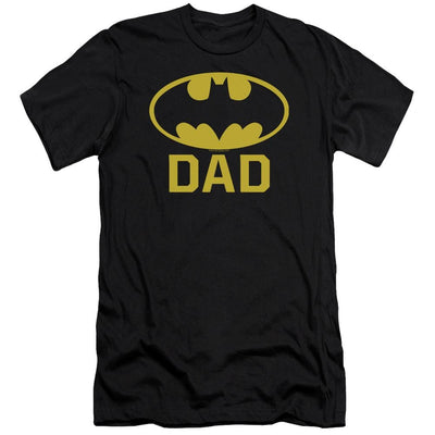 Batman Bat Dad Men's Premium Slim Fit T-Shirt