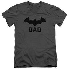 Batman - Hush Dad Adult V-Neck T-Shirt