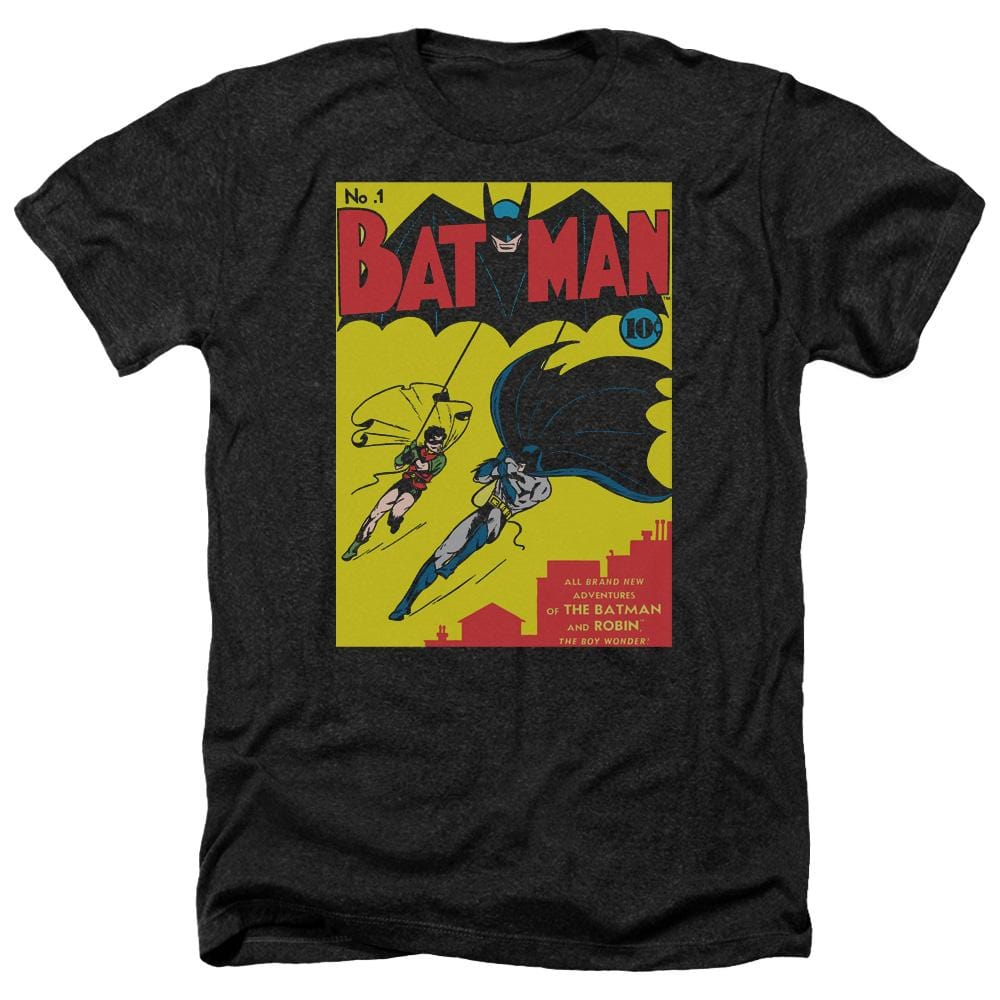 Batman - Batman First Adult Regular Fit Heather T-Shirt