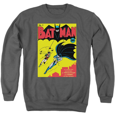 Batman Batman First Men's Crewneck Sweatshirt