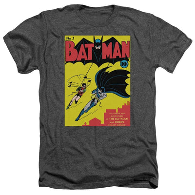 Batman Batman First Men's Heather T-Shirt