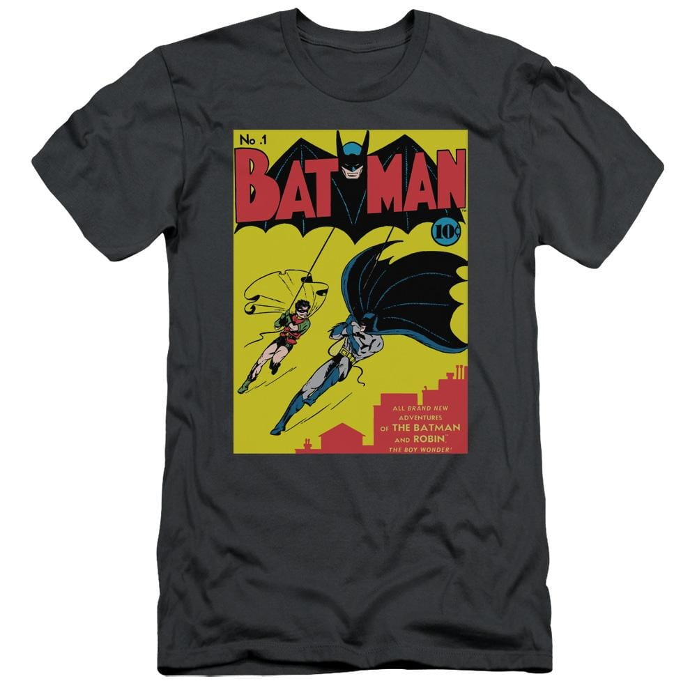 Batman - Batman First Adult Slim Fit T-Shirt