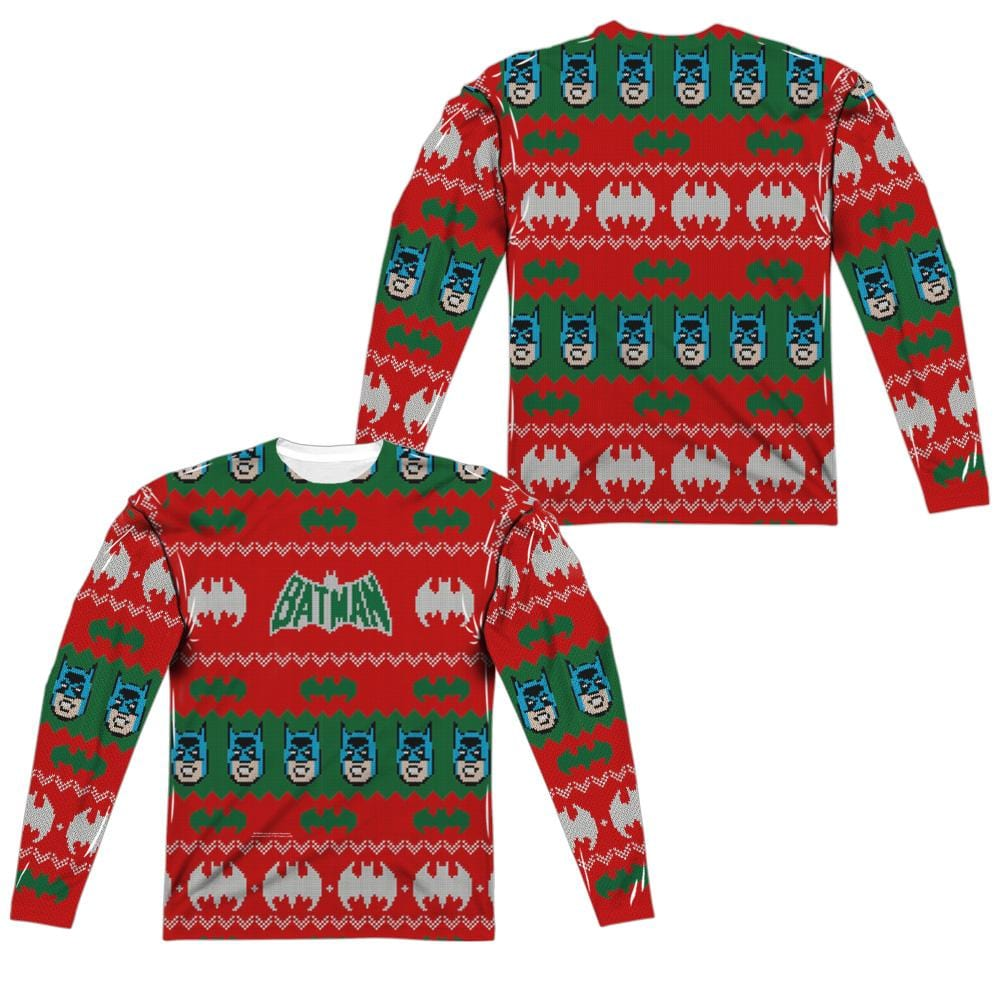 Batman - Bat Ugly Christmas Sweater Tee