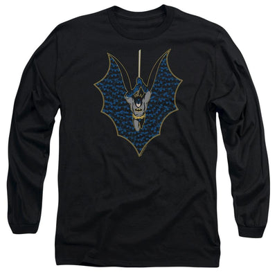 Batman Bat Fill Men's Long Sleeve T-Shirt