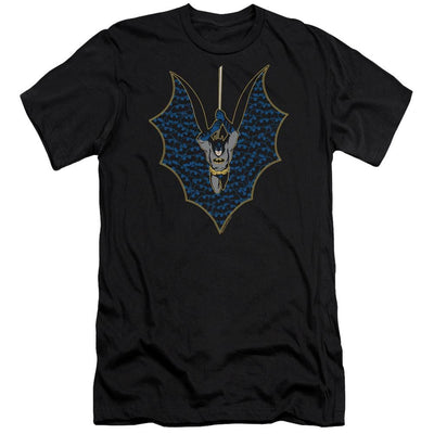 Batman Bat Fill Men's Slim Fit T-Shirt