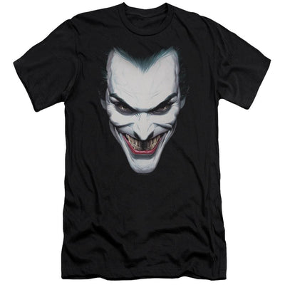 Batman Joker Portrait Men's Slim Fit T-Shirt