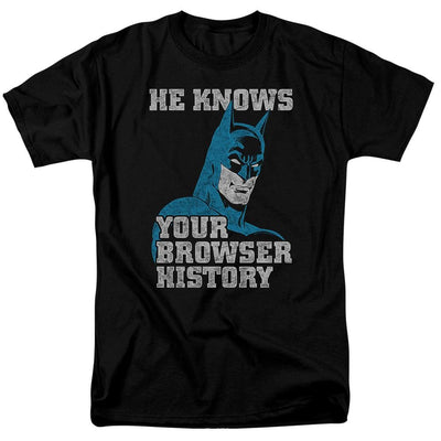 Batman Batman Knows Men's Regular Fit T-Shirt