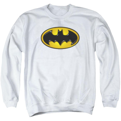 Batman Airbrush Bat Symbol Men's Crewneck Sweatshirt