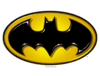 Batman Airbrush Bat Symbol Men's Regular Fit T-Shirt