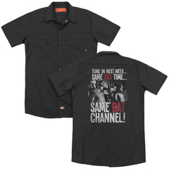 Batman Classic Tv - Bat Channel Adult Work Shirt