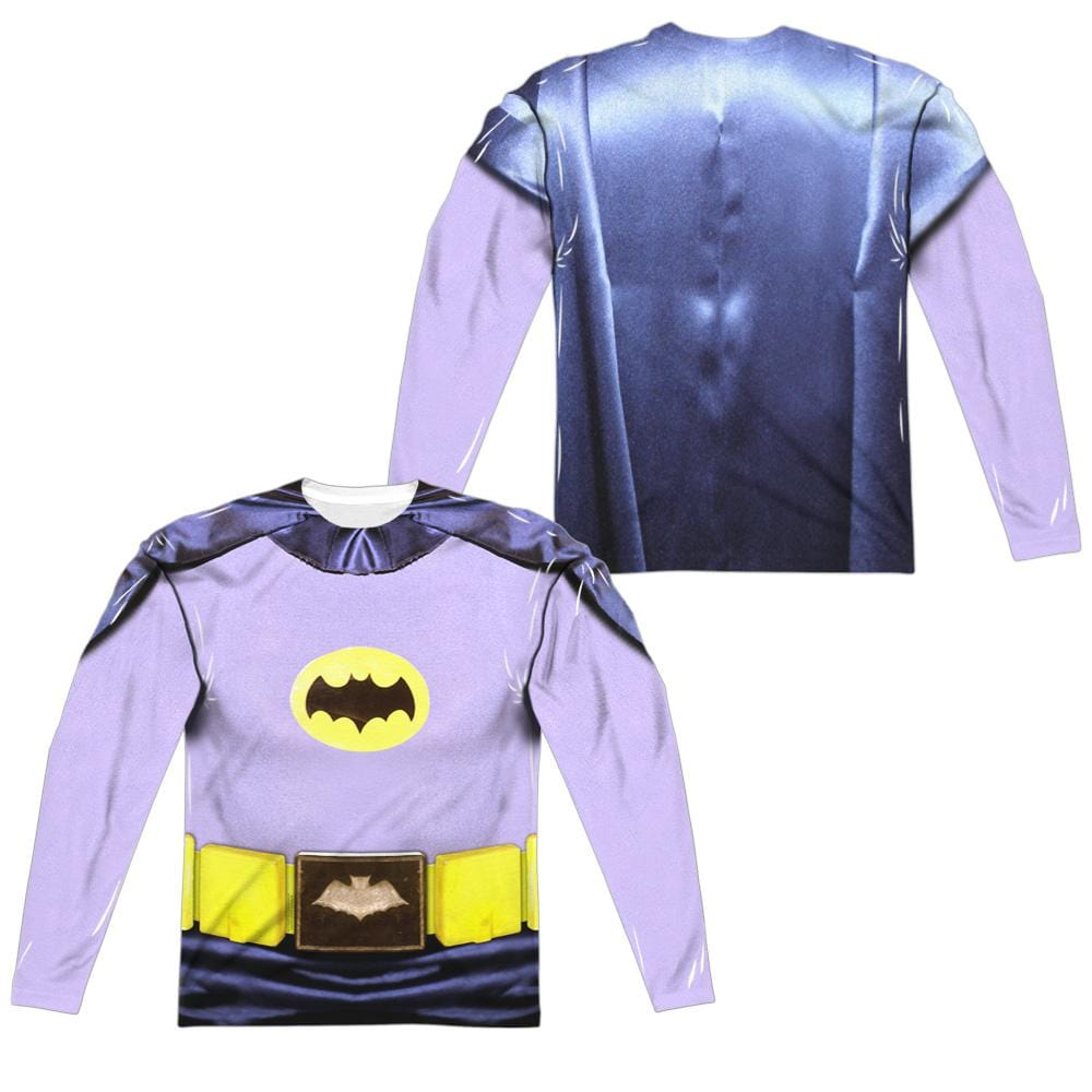 Batman Classic Tv - Batman Costume Adult Long Sleeve T-Shirt