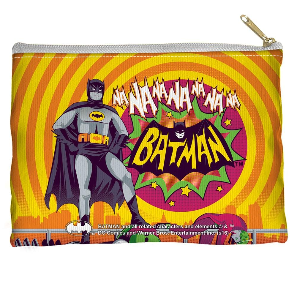 Batman Classic Tv - Batman Wins Again Straight Bottom Pouch