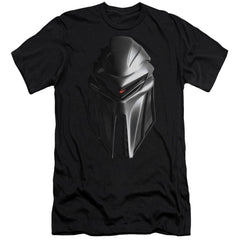 Bsg Cylon Head Premium Adult Slim Fit T-Shirt