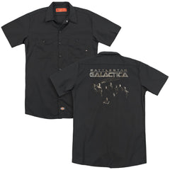 Battlestar Galactica - Battle Cast Adult Work Shirt