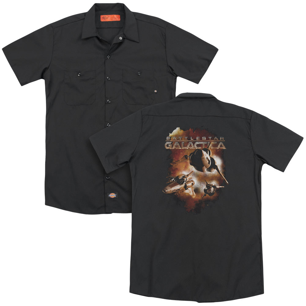 Battlestar Galactica (new) - Vipers Stretch Adult Work Shirt