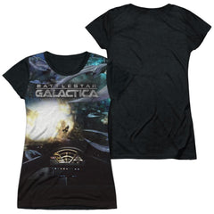 Bsg (new) - Battle Seat Junior All Over Print 100% Poly T-Shirt