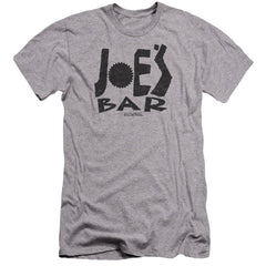 Bsg Joes Bar Logo Premium Adult Slim Fit T-Shirt