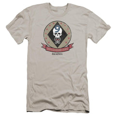 Bsg Headhunters Badge Premium Adult Slim Fit T-Shirt