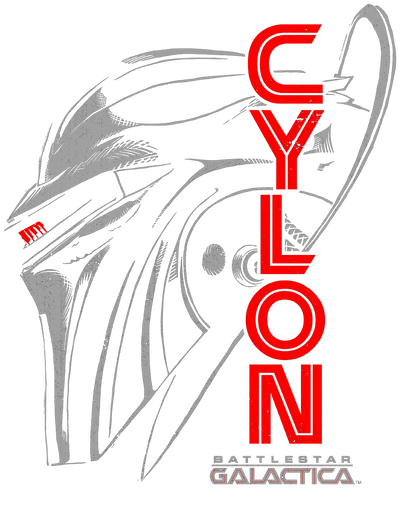 Battlestar Galactica Cylon Face Women's T-Shirt