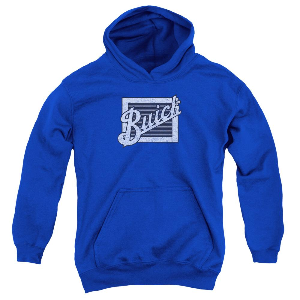 Buick - Distressed Emblem Youth Hoodie