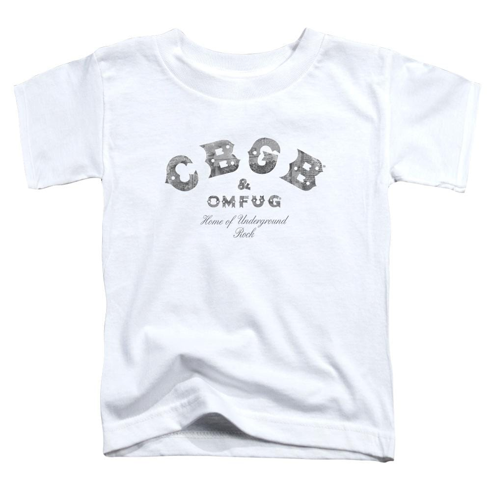 Cbgb Club Logo Toddler T-Shirt