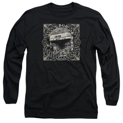 Cbgb Front Door Adult Long Sleeve T-Shirt