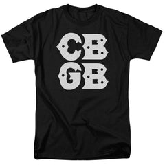 Cbgb Stacked Logo Adult Regular Fit T-Shirt