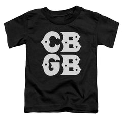 Cbgb Stacked Logo Toddler T-Shirt