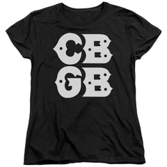 Cbgb Stacked Logo Women's T-Shirt