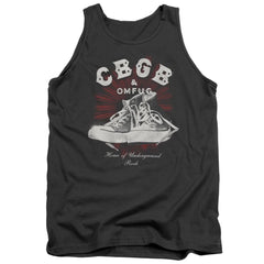 Cbgb High Tops Adult Tank Top