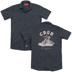 Cbgb High Tops Adult Work Shirt