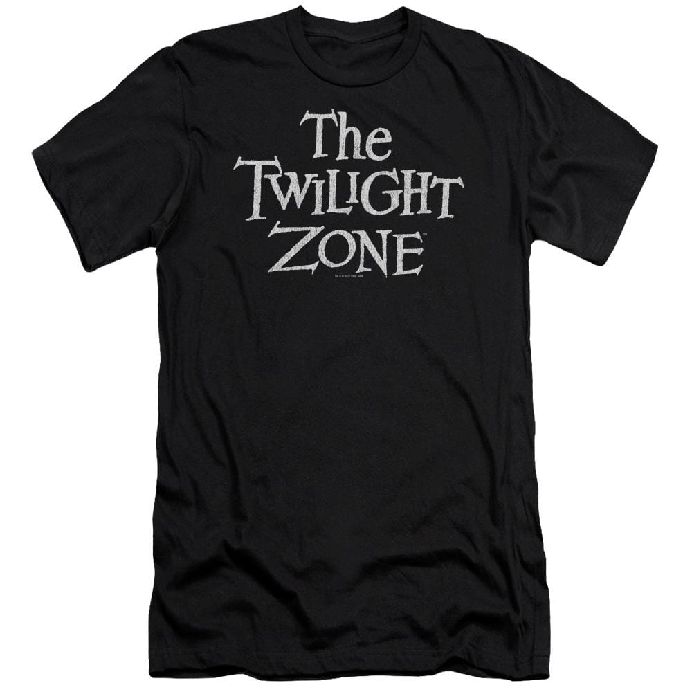 Twilight Zone Logo Premium Adult Slim Fit T-Shirt