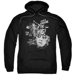 Twilight Zone - Someone On The Wing Adult Pull-Over Hoodie